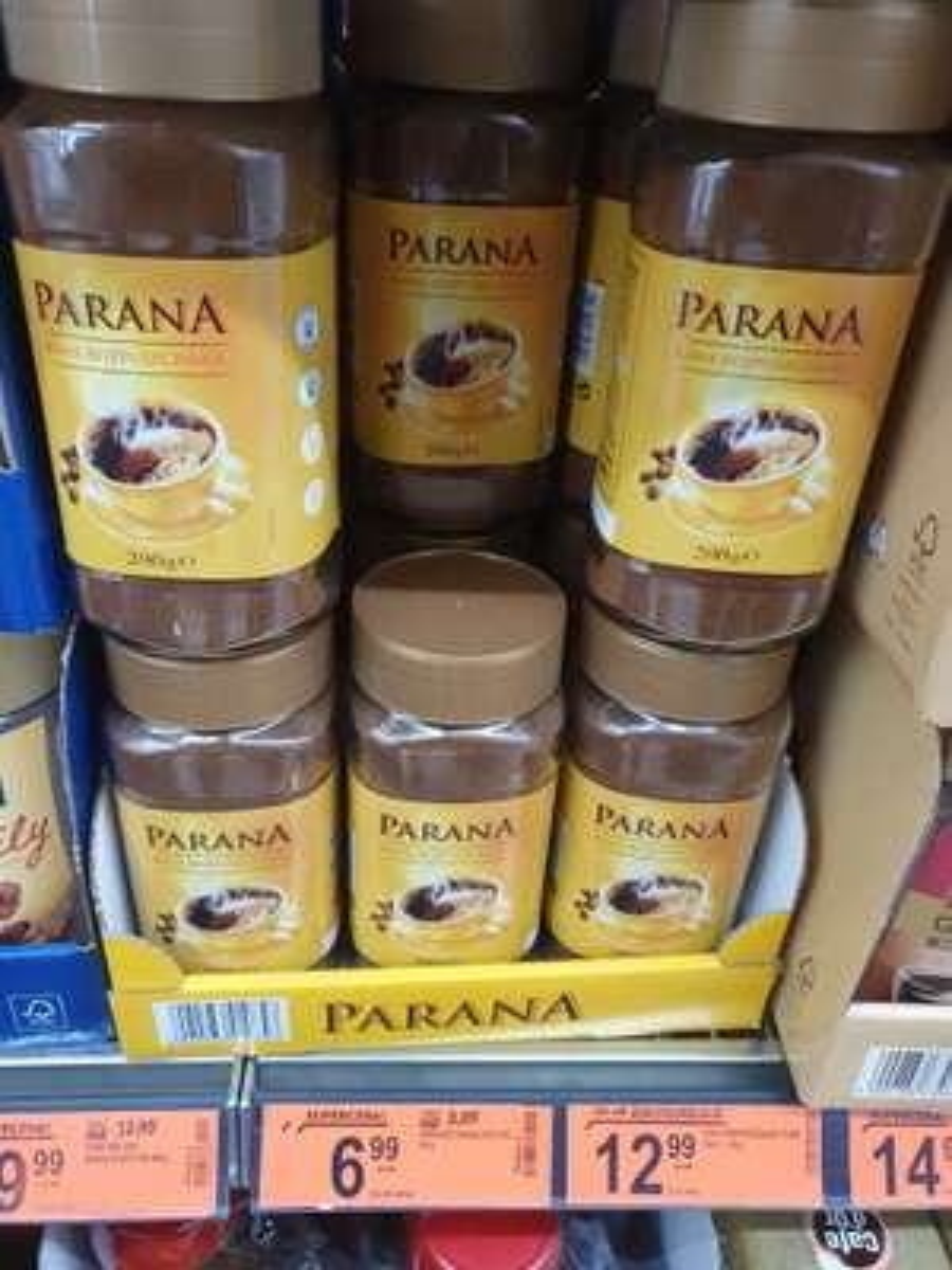 Kawa rozpuszczalna Parana 200g Biedronka