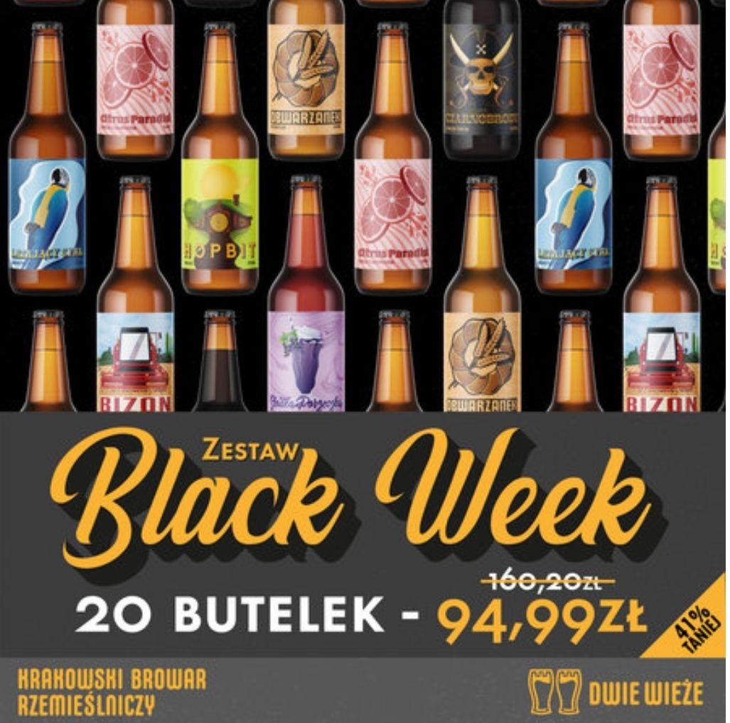Browar Dwie Wieże Zestaw Black Week 20 PIW MIX 41% taniej