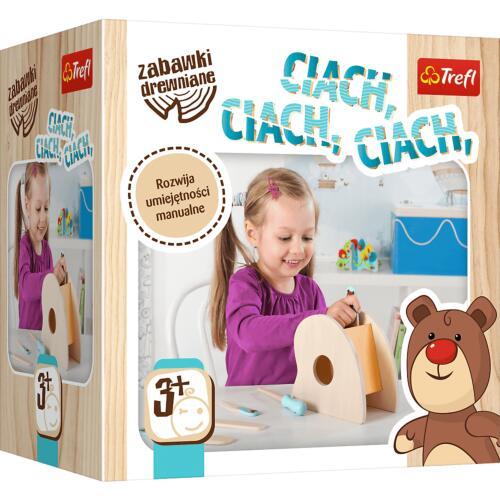 Ciach, Ciach, Ciach, zabawka drewniana, Trefl