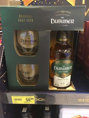 The Dubliner Bourbon Cask Aged Irish Whiskey 0,7l + 2 szklanki - Stokrotka Lublin