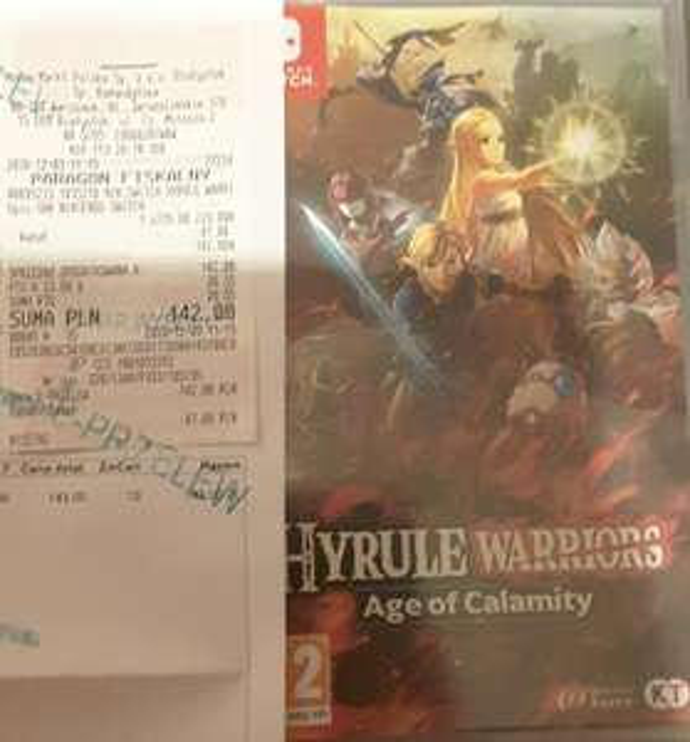 Gra Hyrule Warriors Age Calamity na Switch