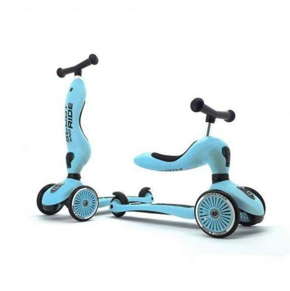 Scoot & Ride Highwaykick 1 Jeździk i hulajnoga 2w1 Blueberry