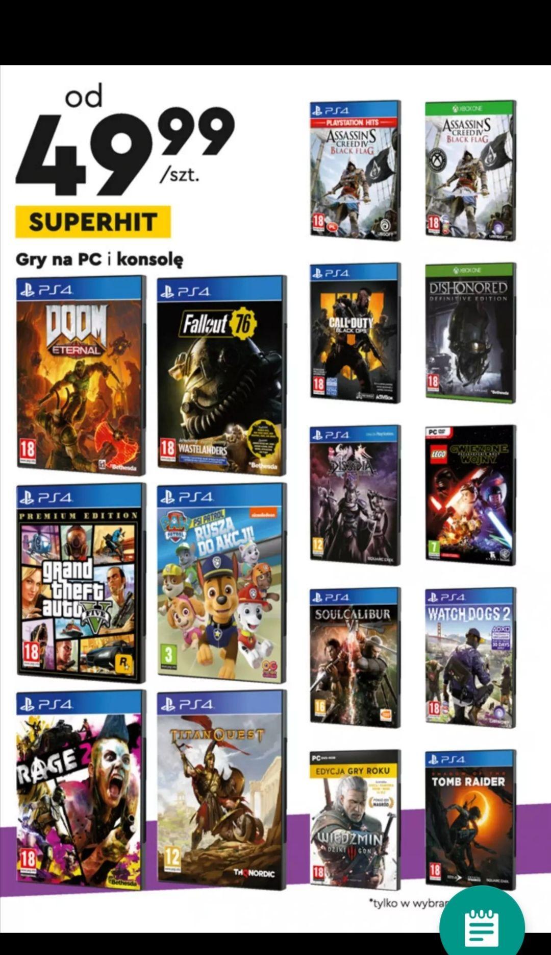 Gry na PlayStation i Xbox One w Biedronce