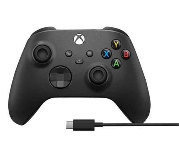 Microsoft Xbox Series Kontroler bezprzewodowy + kabel USB-C Carbon Black