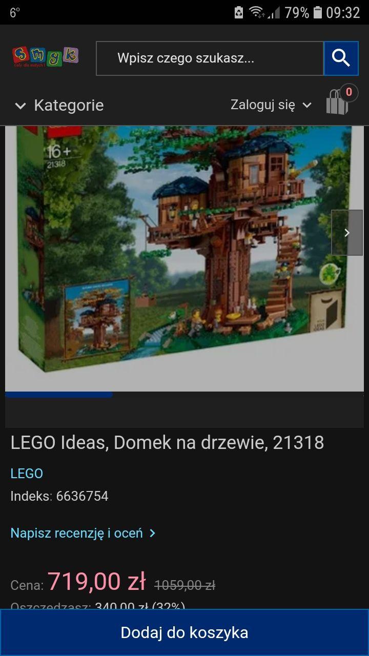 LEGO 21318 Ideas Domek na drzewie