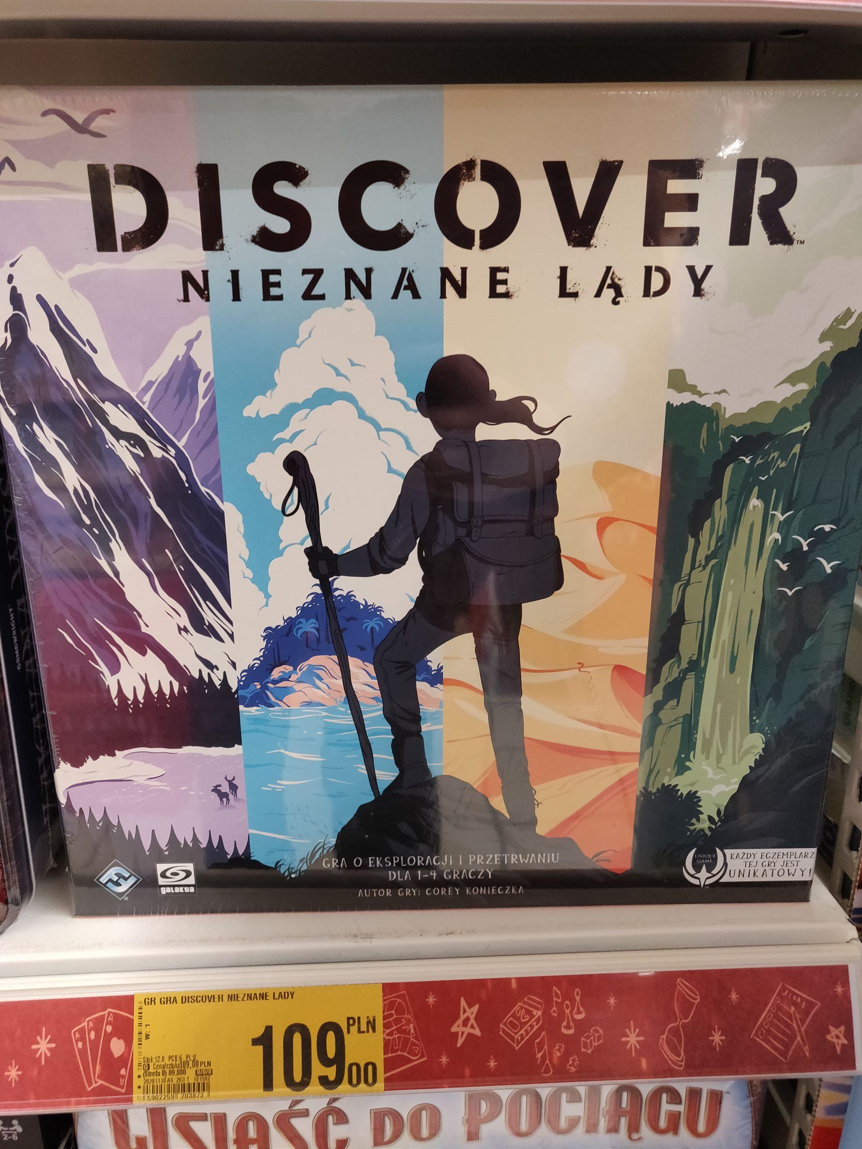 Gra Discover - Nieznane lądy