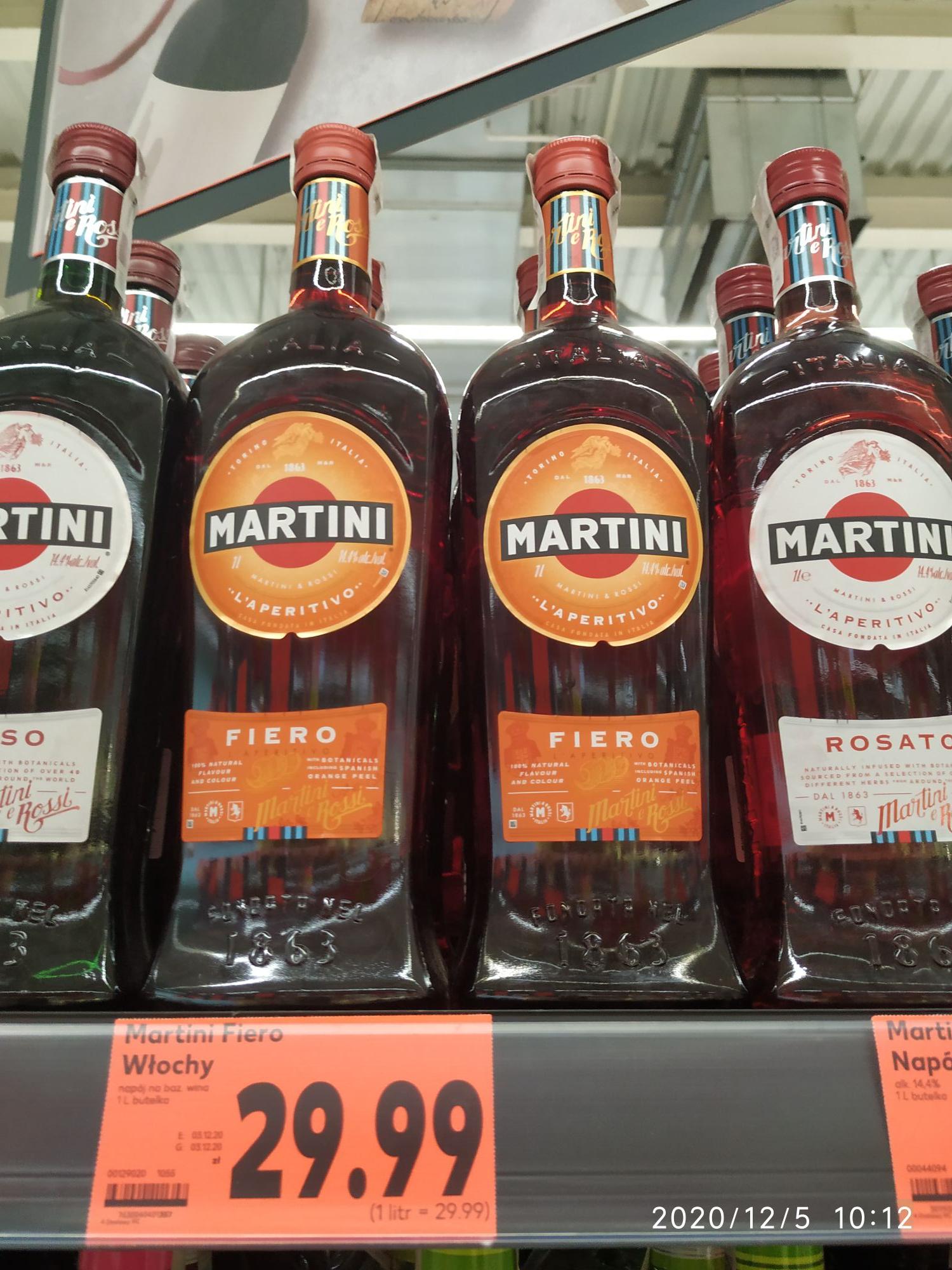 Martini Fiero 1L w Kaufland Lublin