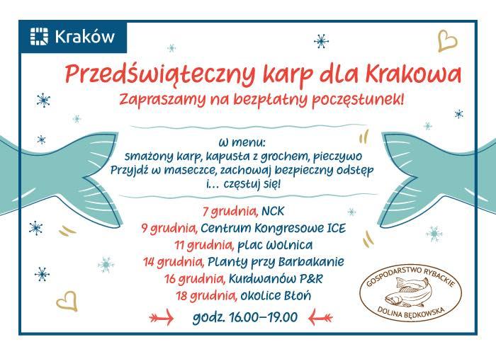 Kraków bezpłatny świąteczny poczęstunek