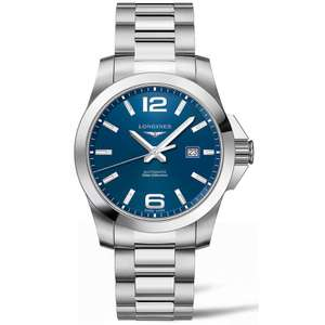 Zegarek Longines Conquest L3.778.4.96.6 - Automat, 43mm
