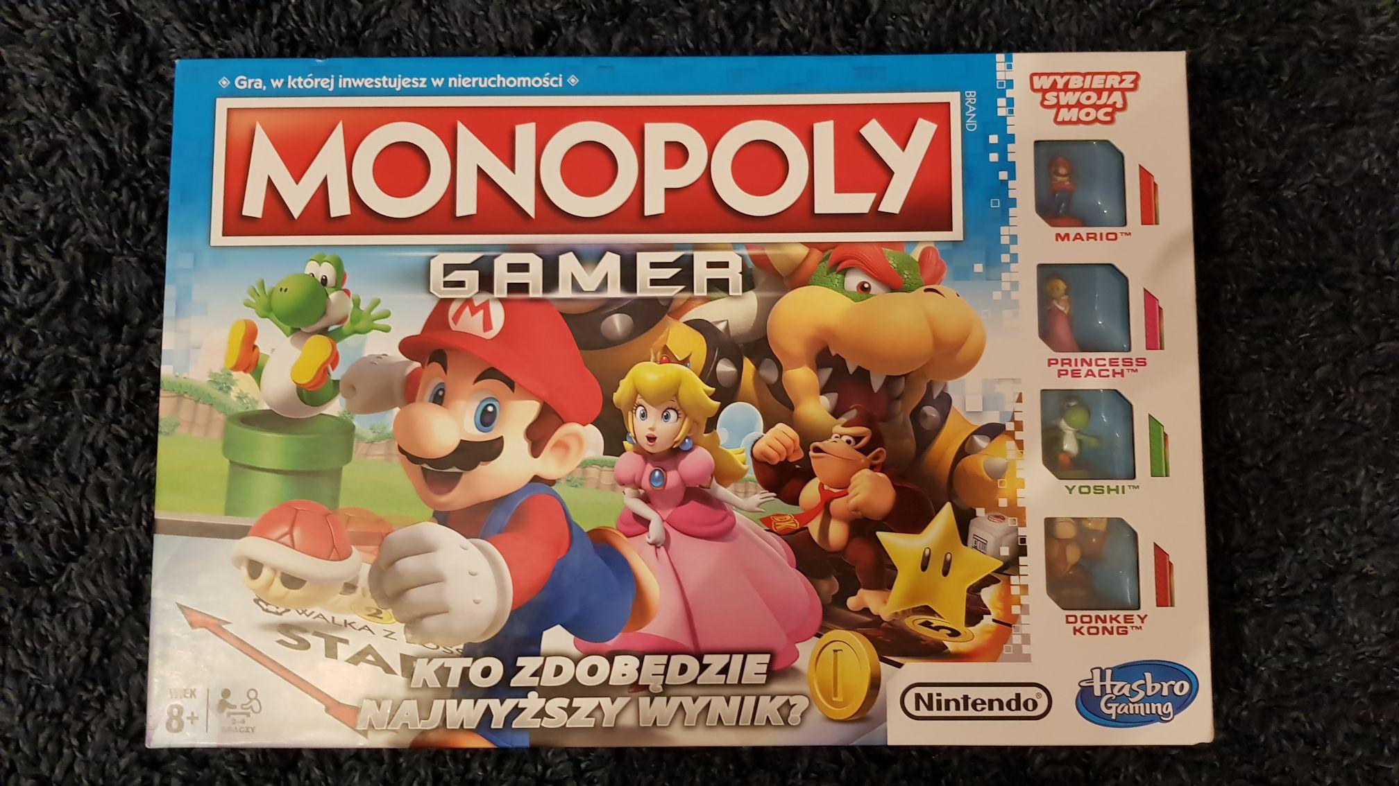 Monopoly Gamer (Nintendo Mario) w Pepco