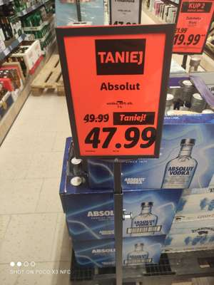 Wódka Absolut 1L w Lidl
