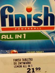 Tabletki do zmywarki Finish All in 1 @ Lidl
