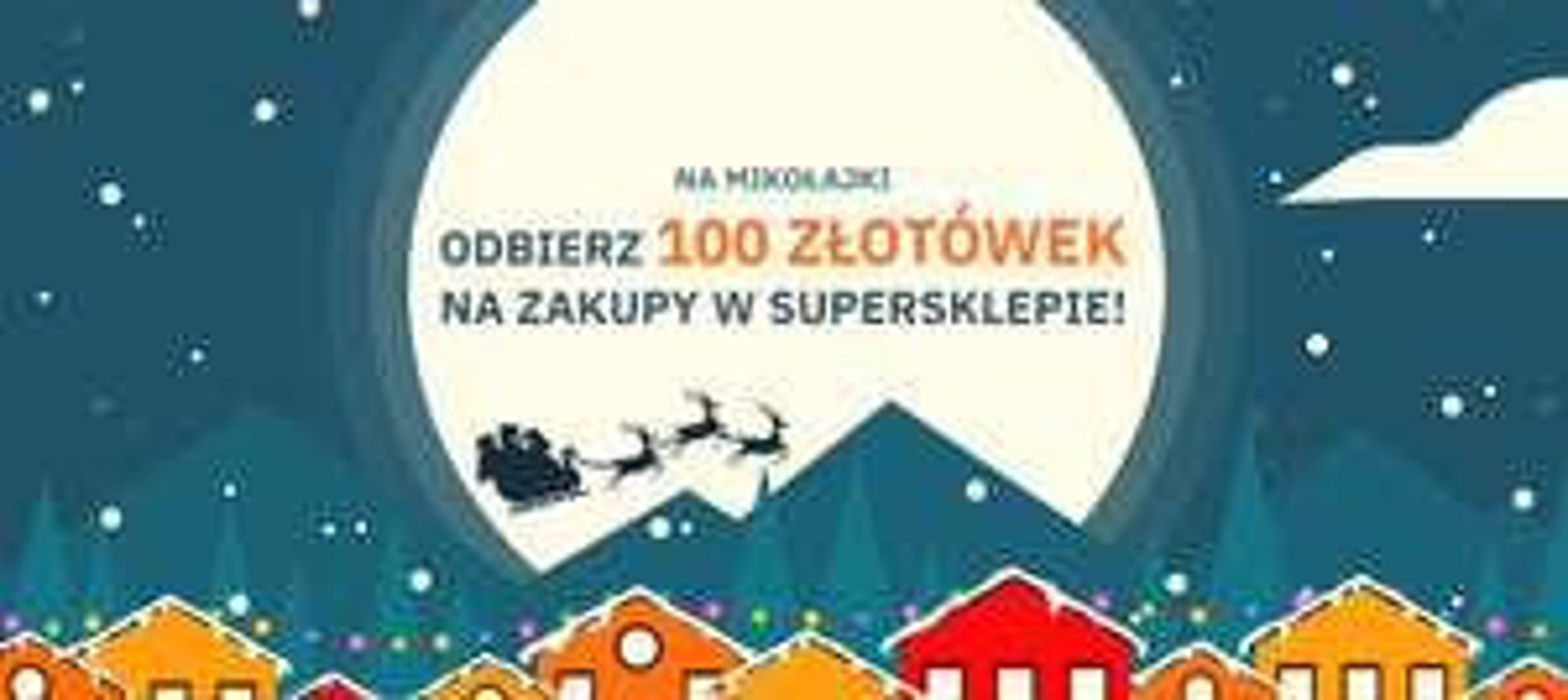 SuperSklep - 100 złotówek na Mikołajki dla każdego