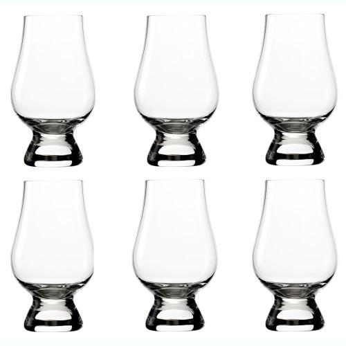 Whisky - OFICJALNA SZKLANKA DO WHISKY GLENCAIRN GLASS KOMPLET 6 SZT