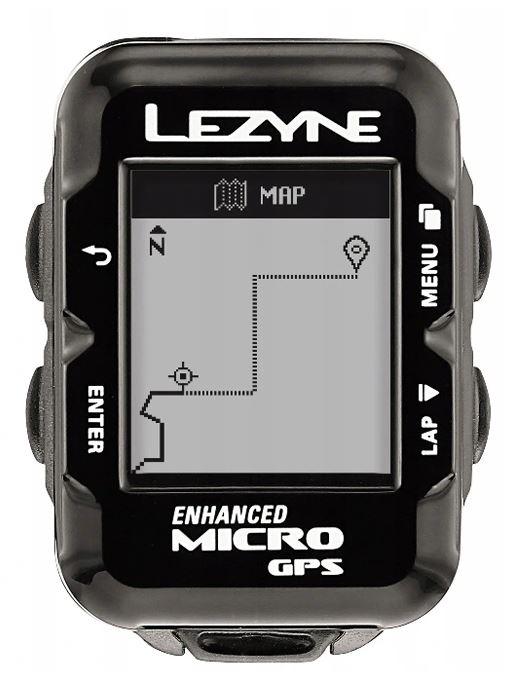 Licznik/komputer rowerowy LEZYNE MICRO GPS oraz SUPER GPS