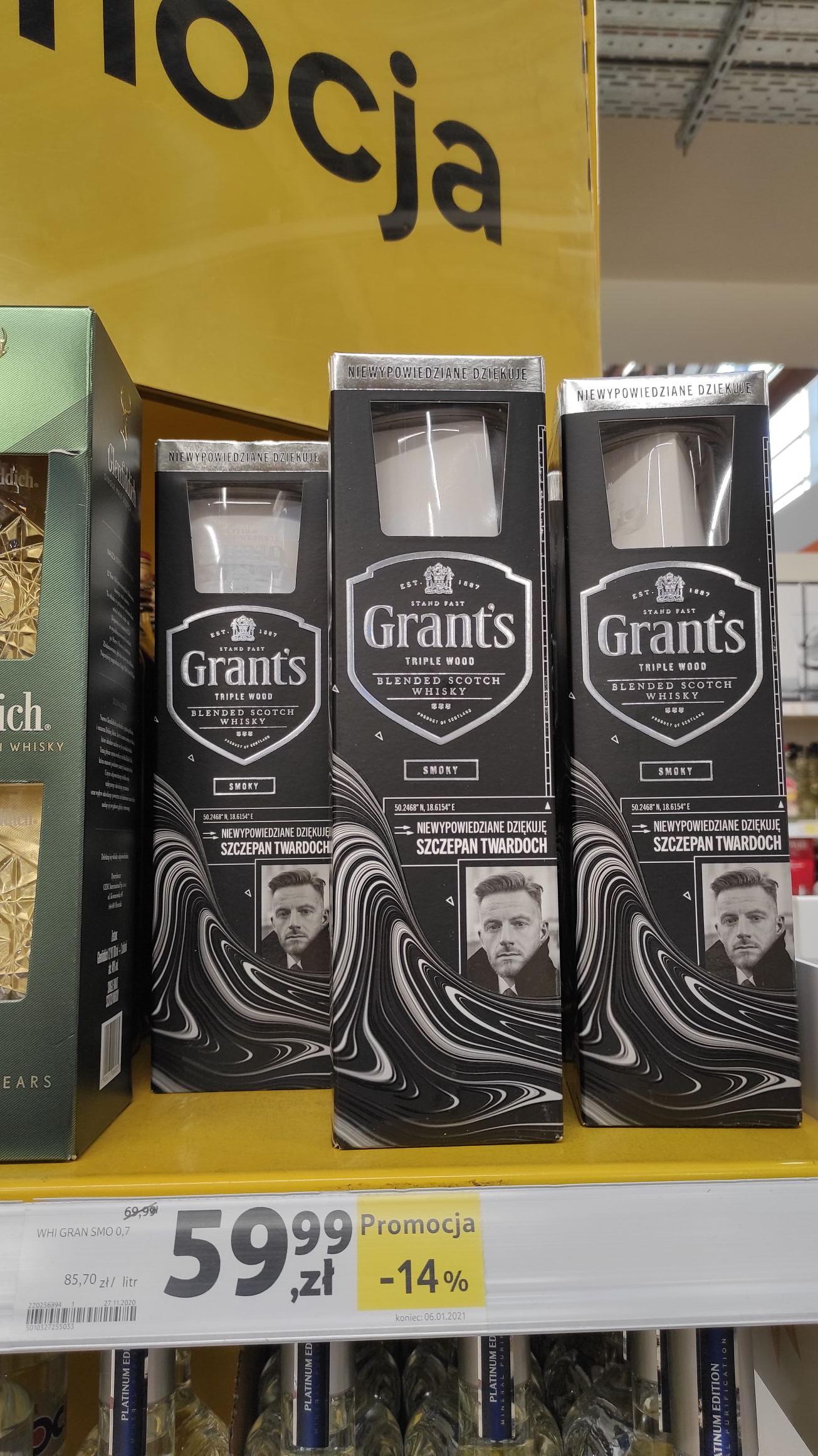 Whisky Grant's Triple Wood Smoky