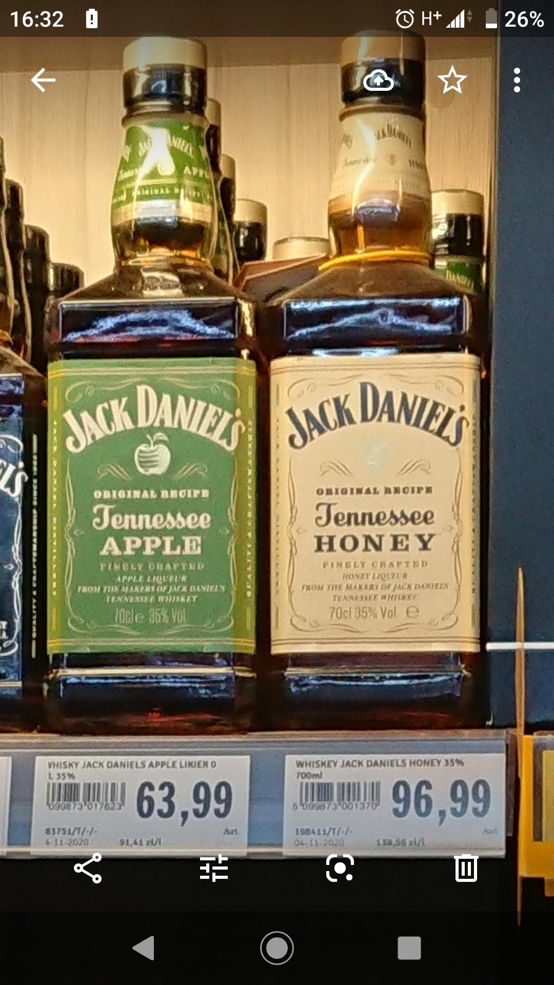 Likier Jack Daniels Apple - 0,7 L - Stokrotka
