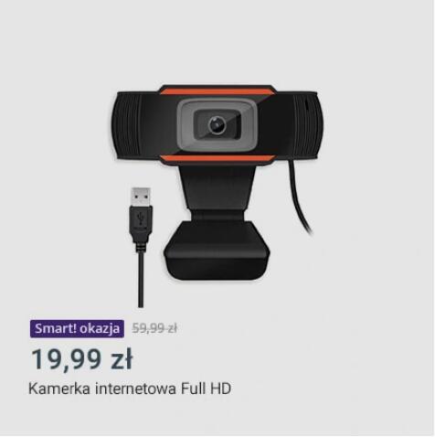 Allegro Smart Okazje Kamerka internetowa 1080p z mikrofonem
