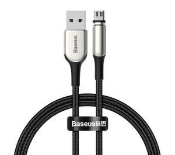 Baseus Kabel magnetyczny micro USB/Lightning 1m