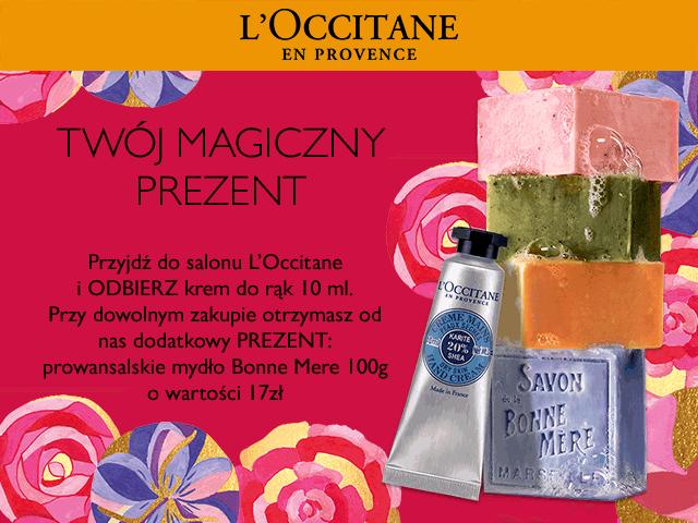 Krem do rąk za założenie Karty Stałego Klienta + gratis za dowolony zakup @ L'Occitane