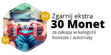 Allegro, +30 Monetprzy zakupach od 500 zł w kategorii Konsole i automaty