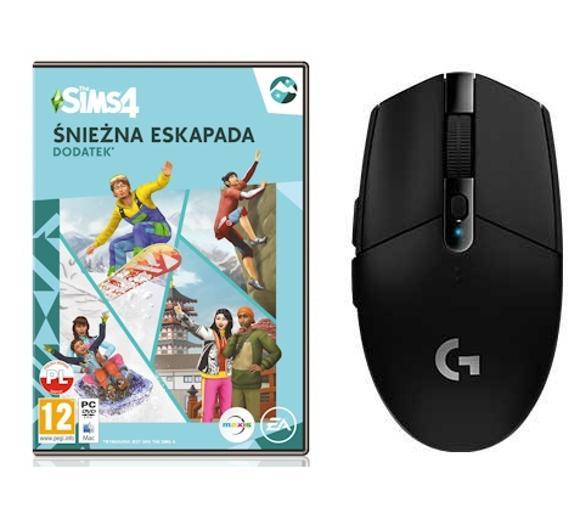 The Sims 4: Śnieżna Eskapada PC + mysz Logitech G305 (4 kolory do wyboru)