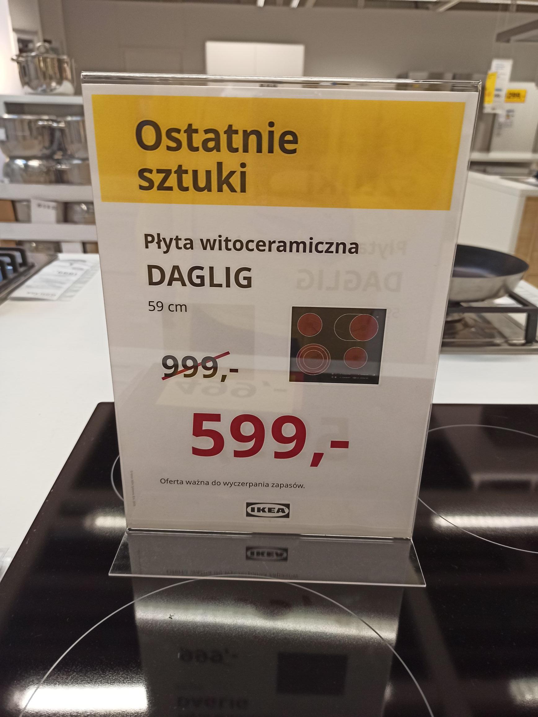 Płyta witroceramiczna Daglig @Ikea Gdańsk