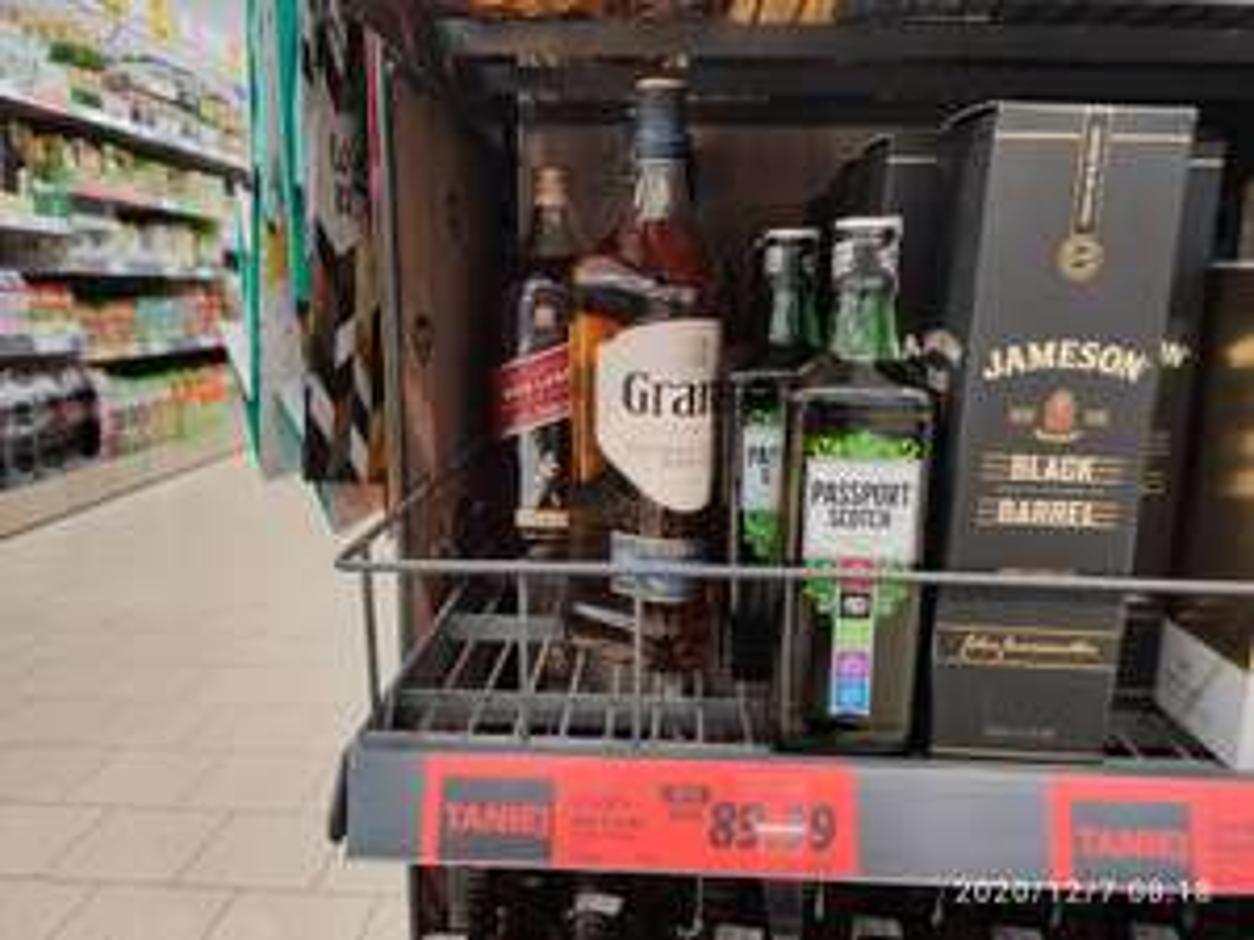 Whisky Grant's Ale Cask 1.5 L Lidl