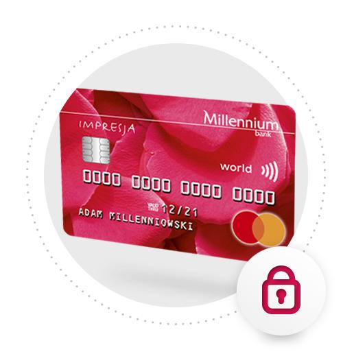 Millenium Bank - Zamów online kartę kredytową Mastercard Impresja i zyskaj 300 na karcie podarunkowej Allegro