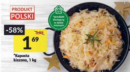 Kapusta kiszona 1,69zł/kg Twój Market