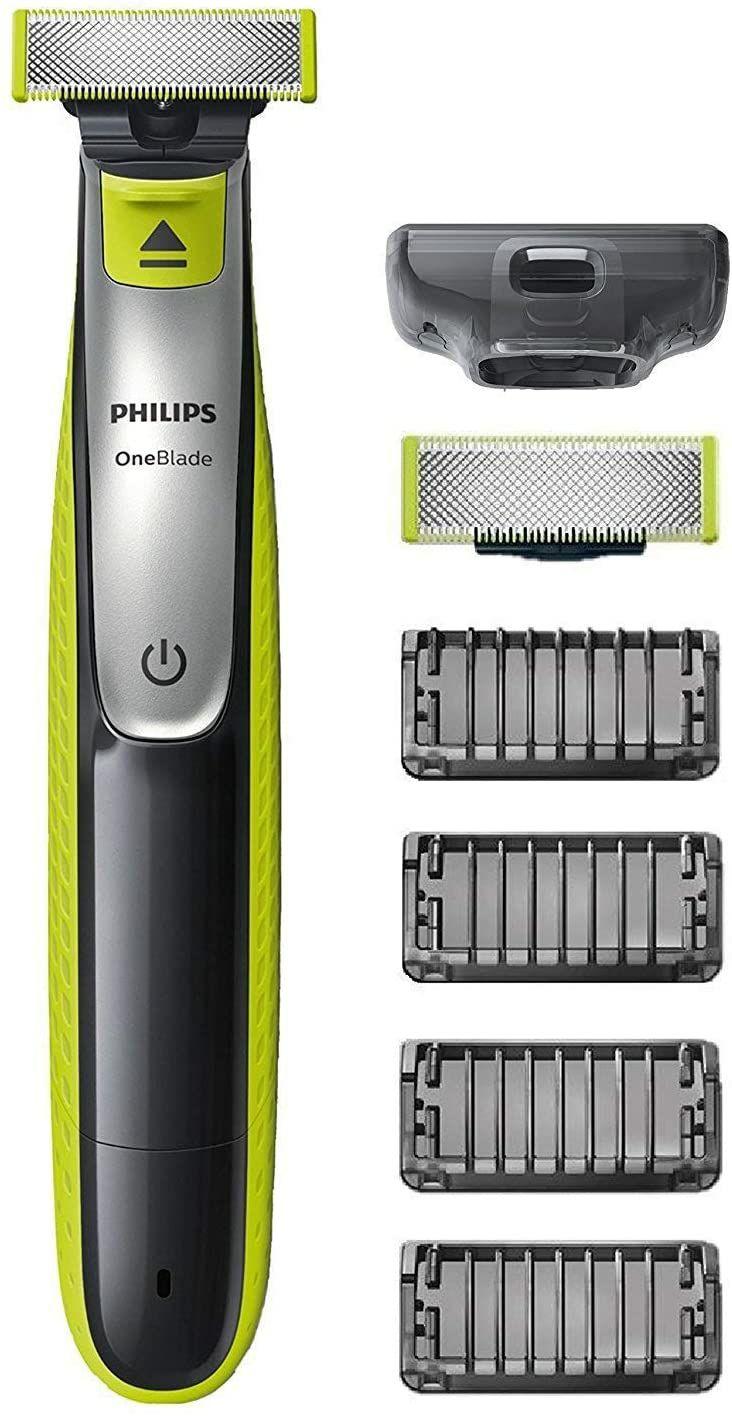 Golarka Philips OneBlade QP2530 / 30 z 2 ostrzami + 4 nasadkami do przycinania za 29,5 € z dostawą.