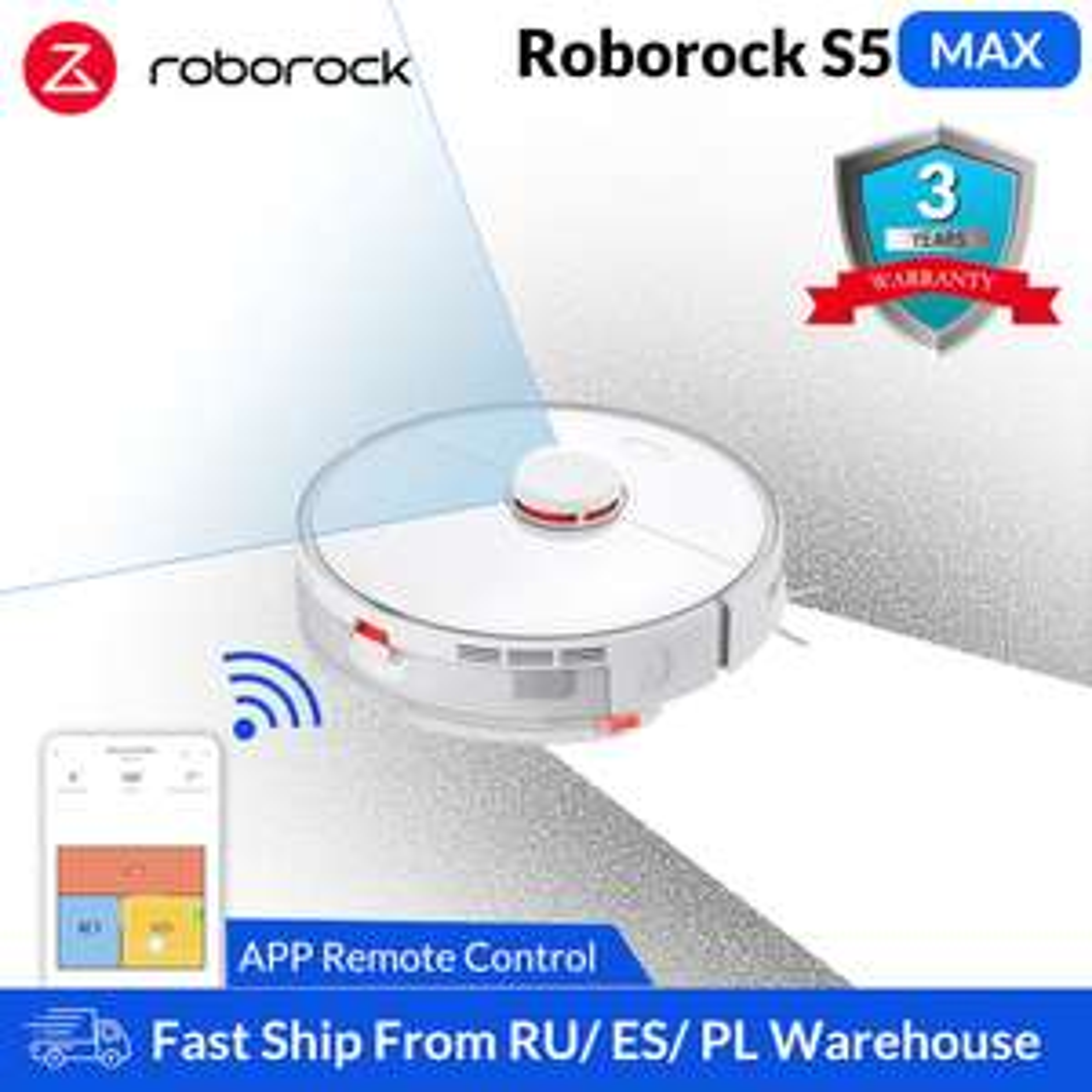 Roborock S5 Max odkurzacz z dostawą z Polski