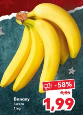 Banany - Kaufland