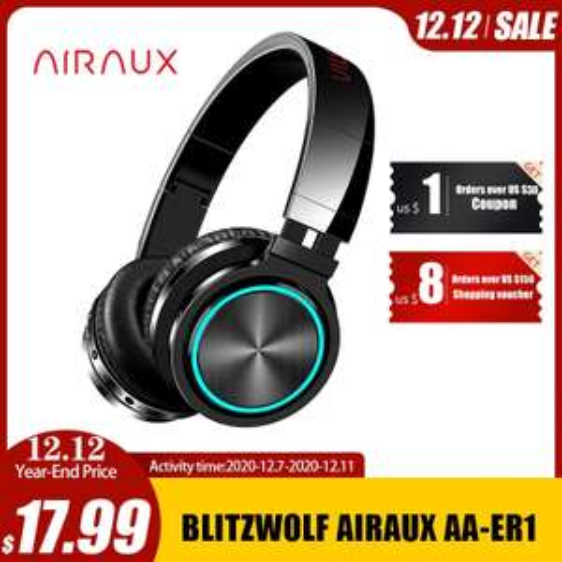 BlitzWolf AIRAUX AA-ER1 słuchawki bezprzewodowe z bluetooth