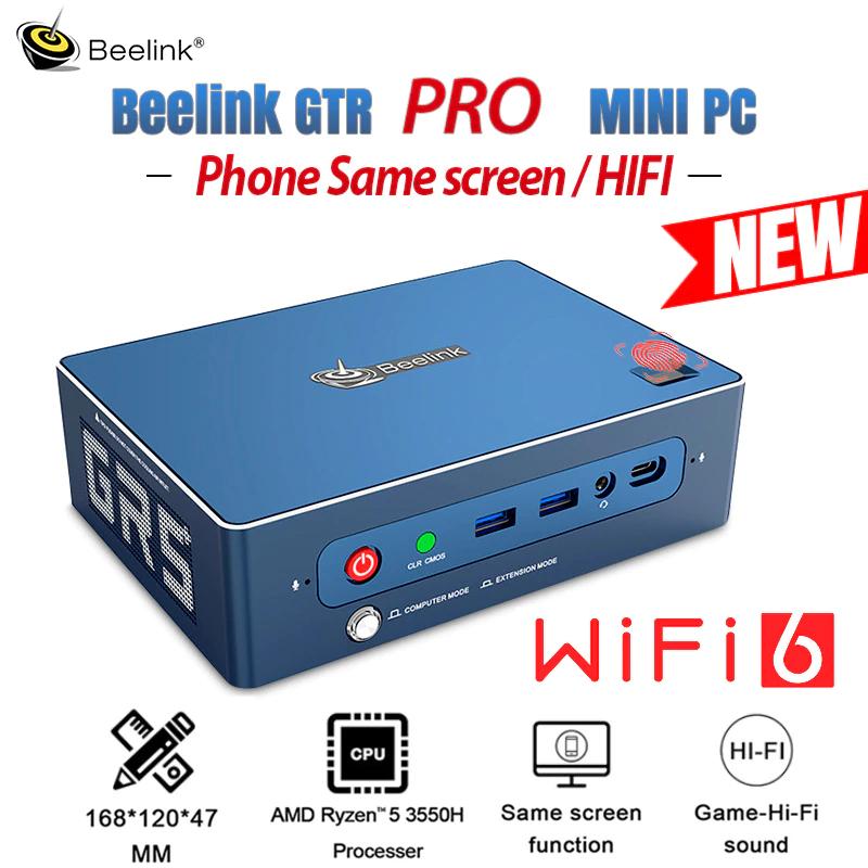 Beelink GTR PRO MINI PC wersja Barebone