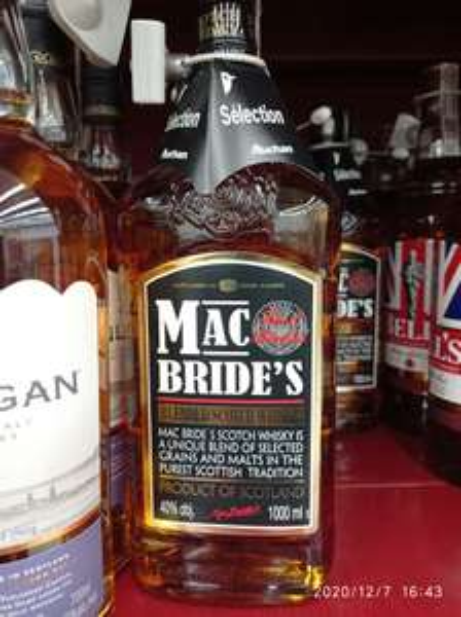 Whisky Mac Bride's 1L (i inne) w auchan Rybnik