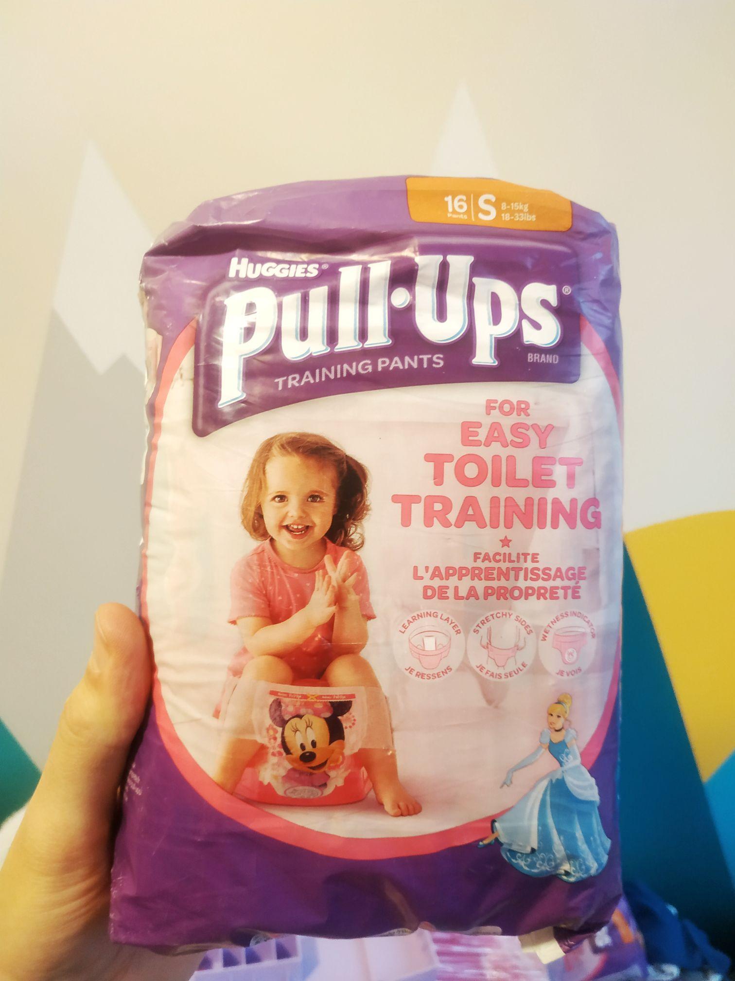 Pieluchy dla dzieci Huggies Pull-Ups Majteczki rozmiar S 16 szt M 14 szt L 12 szt