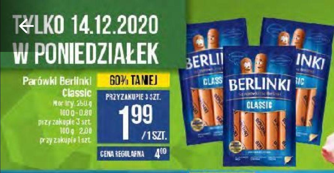 Berlinki 1.99 przy zakupie 3 sztuk POLOmarket