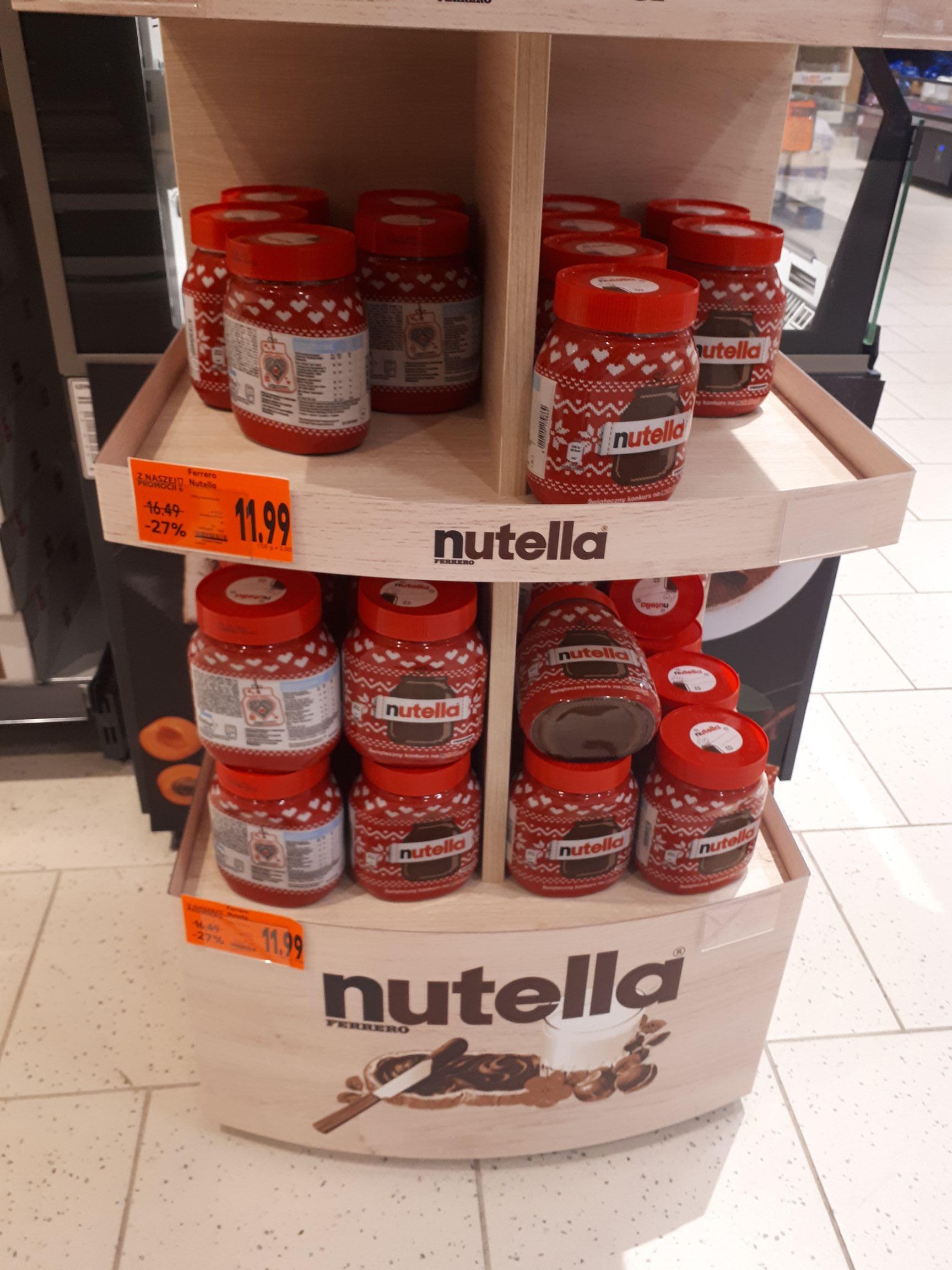 Nutella 600g Kaufland Katowice