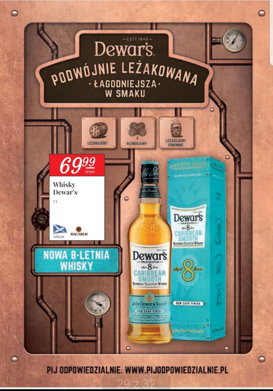 Whisky DEWAR'S 8YO CARIBBEAN SMOOTH