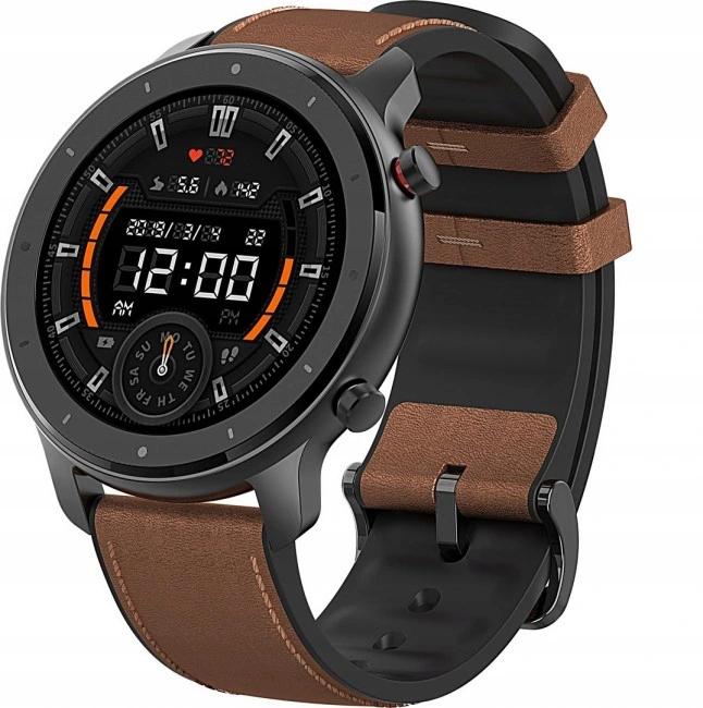 Smartwatch Amazfit GTR 47, AMOLED, z wysyłką z Polski @ Aliexpress