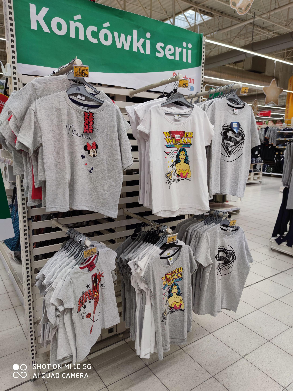 Koszulki Disney Wonder woman 104 - 164 Auchan