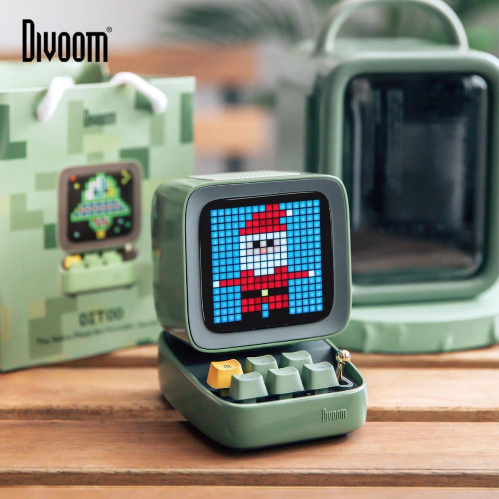 Divoom Ditoo Retro Pixel - głośnik, budzik, pikselowy wyświetlacz LED DIY z Polski @AliExpress