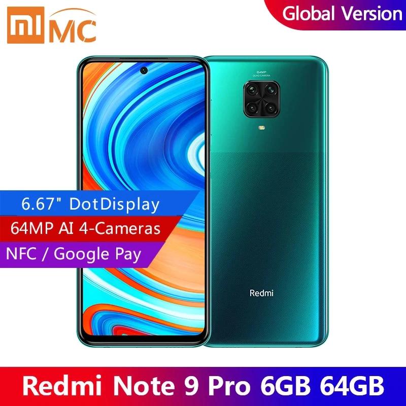 Xiaomi redmi note 9 pro $189.99