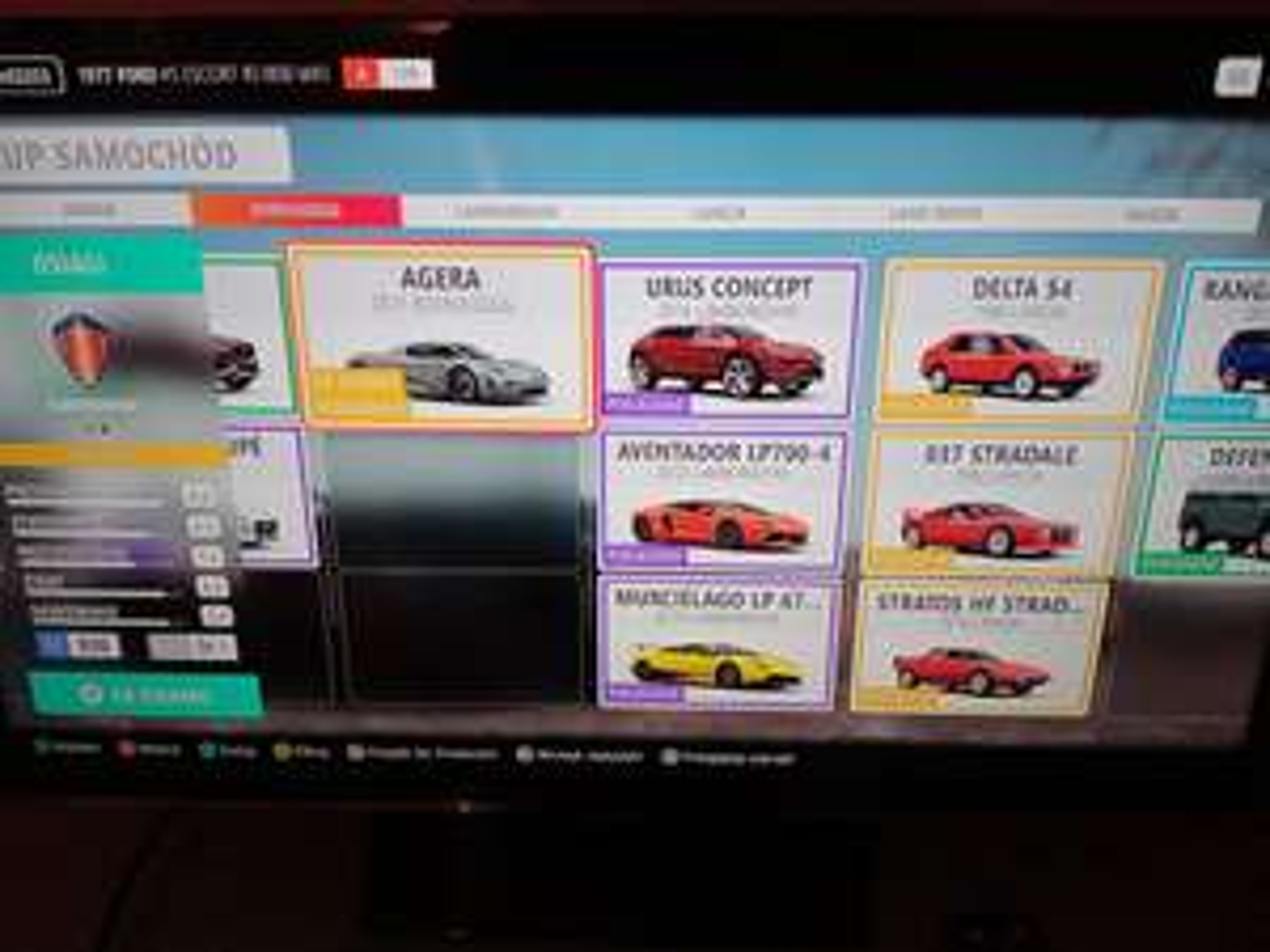 Forza horizon 4, darmowe samochody Koenigsegg agera, Pagani, Maserati