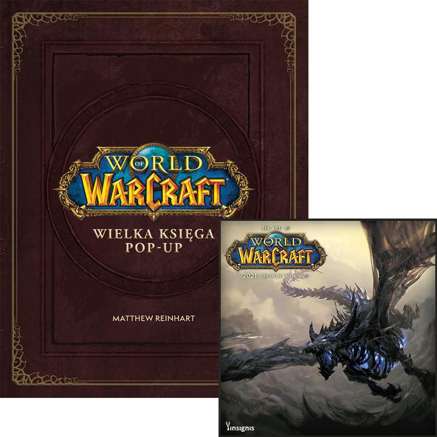 World of Warcraft księga pop-up + kalendarz 2021 gratis (i inne).