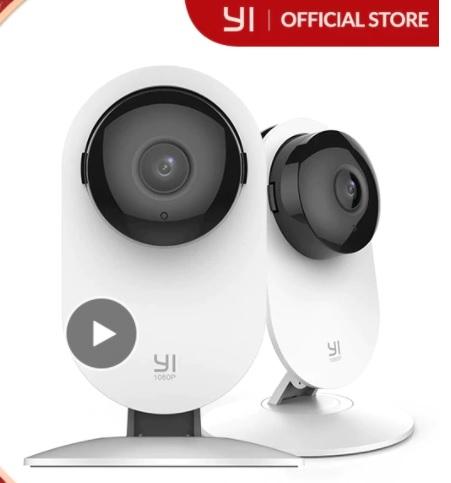 2 kamery smart YI Home 1080P - dostawa z Hiszpanii (28,80$)