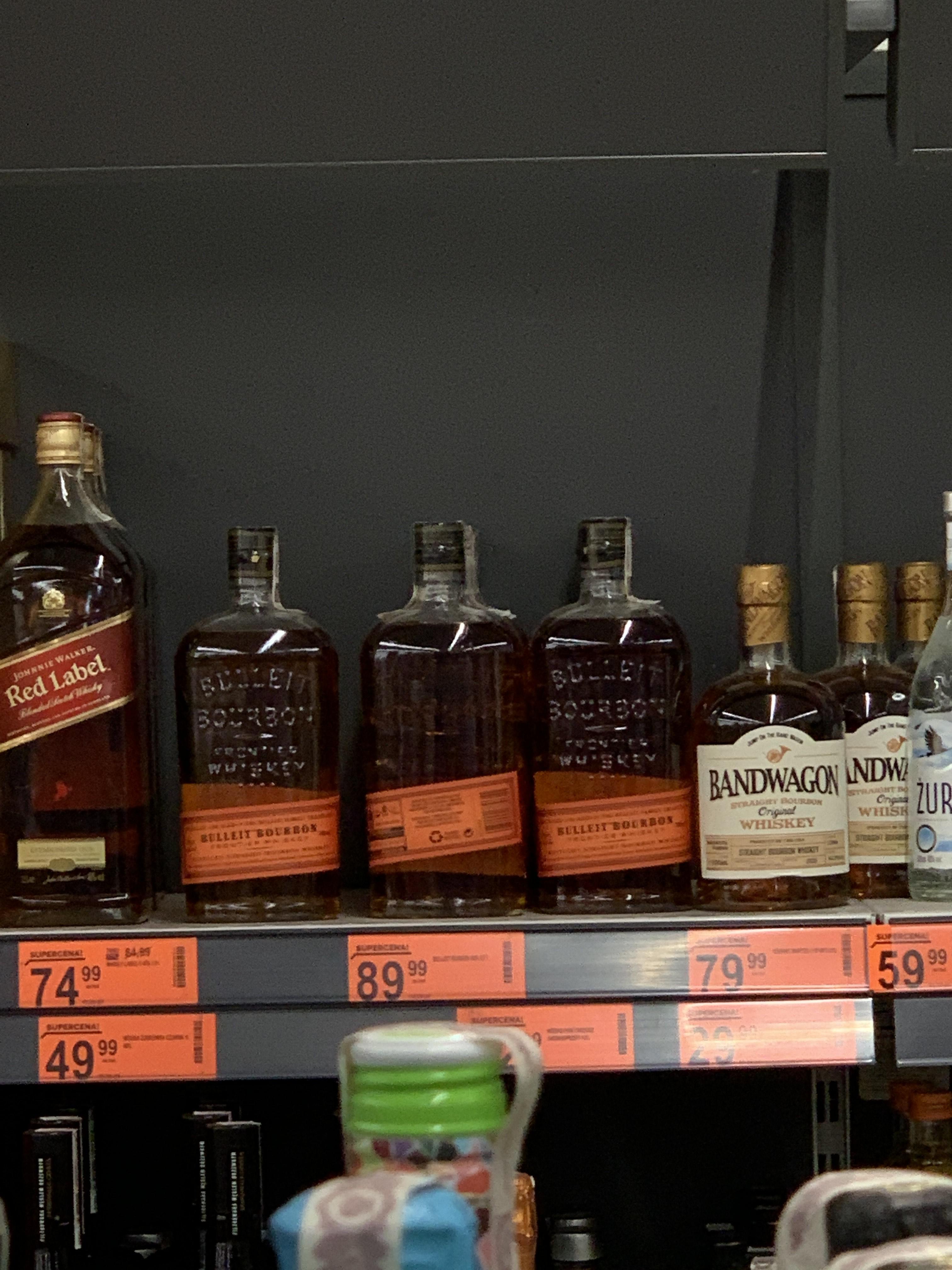 Bulleit bourbon whiskey whisky biedronka