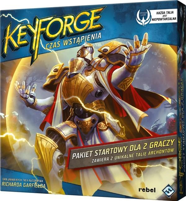 Keyforge: Czas Wstąpienia - Pakiet Startowy - gra planszowa / karciana