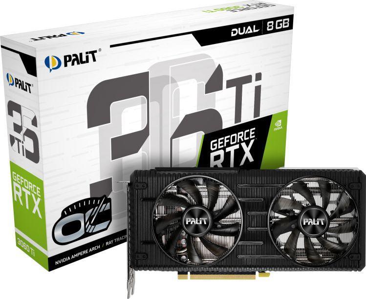 Karta graficzna Palit GeForce RTX 3060Ti Dual OC 8GB GDDR6